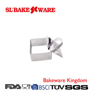 Stainless Steel Square Mousse Cake Ring (SL BAKEWARE)