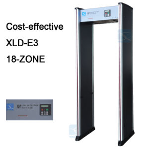 33 Zones Security Archway Door Frame Walk Through Metal Detector Gate Xld-G2 pictures & photos