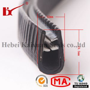 Extruded PVC U Channel Edge Trim pictures & photos