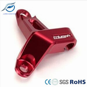 Precision CNC Anodized Aluminum Motorcycle Clutch Bracket