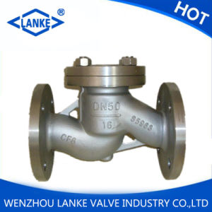 GB Pn16 Dn50 Stainless Steel Flanged Lift Check Valve