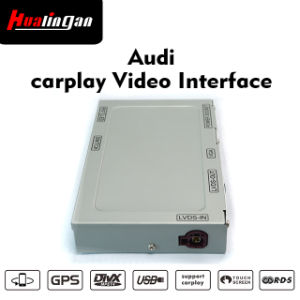 China Audi Car Video Interface with Carplay, Support USB