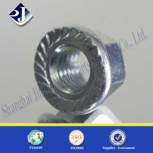 Hex Flange Nut for Automobile Gr8 pictures & photos
