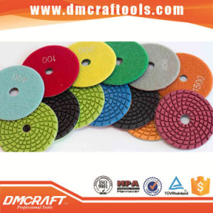 Diamond Pad Granite Polishing Pads for Angle Grinder pictures & photos