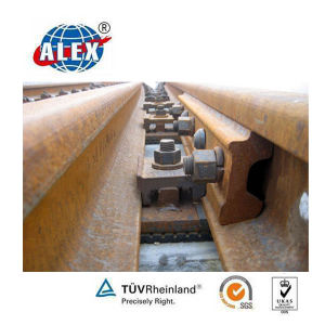 60 Lbs Rail Fishplate for Railway Fastening