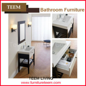High-End Bathroom Cabinet with Wood Feets pictures & photos