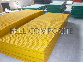 Bell FRP/GRP Mloded Grating pictures & photos