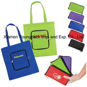 Eco Friendly Folding Non-Woven Reusable Shopper Bag pictures & photos