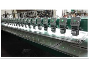 Flat Embroidery Machine with High Quality for Garment