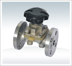 Flanged Dn100 Pn16 Diaphragm Valve pictures & photos