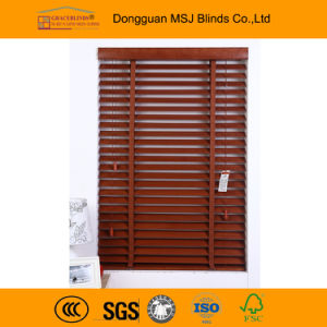 35mm Ladder String Wand Control Window Wood Blinds pictures & photos