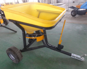 Big Plastic Funner Fertilizer/Salt/Seed Spreader