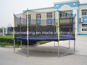 6-16FT Round Big Trampoline with Safety Net
