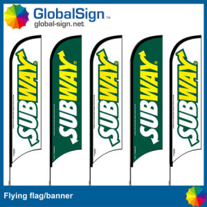 Hot Selling 4.5m Flying Flags with Pole (Style B) pictures & photos