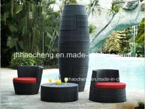 Hc W Vc09 Vase Shape Stackable Sofa Sets In Rattan Garden Furniture