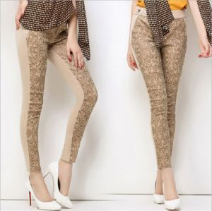 P1272 High Quality Slim Pencil Pants Women′s Leisure Leggings pictures & photos