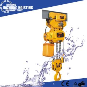 Huaxin 1ton 8meter Electric Construction Hoist for Crane