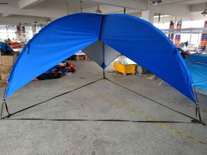 the best attitude b7739 1fb98 Beach Umbrella Shelter. This Shelter Is Quick and Easy Shade Solution for  The Beach, Camping