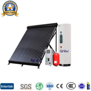 Antifreeze Heat Pipe Vacuum Tube Sun Collector with Solar Keymark pictures & photos