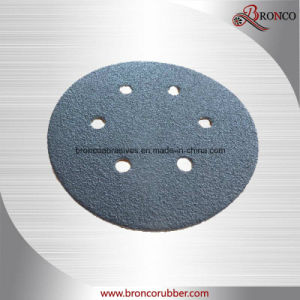 "5"" Aluminum Oxide Grinding Hook & Loop Disc for Auto"