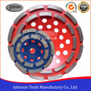 100-180mm Diamond Double Row Cup Wheel for Stone pictures & photos