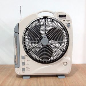 27W 12 Inch Table DC/AC Rechargeable Fan pictures & photos