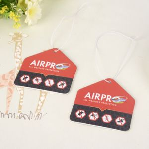Customized Shape Paper Air Freshener for Business Gift (AF-016) pictures & photos