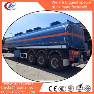 3 Axle Oil Tanker Trailers 40000 Liters Fuel Tank Semi Trailer Gasoline Transport Tank Trailer pictures & photos