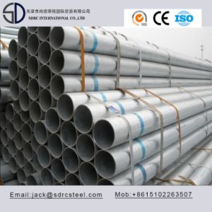 Thin Wall Galvanized Round Furniture Steel Tube pictures & photos