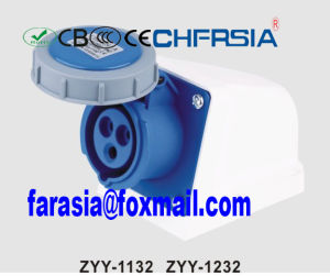 3p IP67 Cee Waterproof Plug Socket for Industrial Power