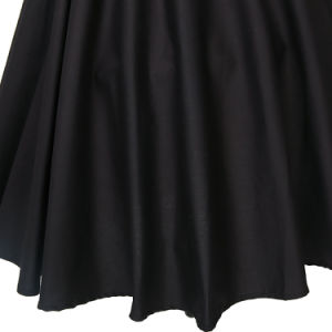 Latest Casual 60s Pinup Rockabilly Black MID-Length Skirts for Girls pictures & photos