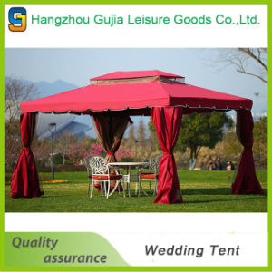 Folding Exhibition Windproof Double Roof Garden Tent for Wedding/Party