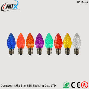 Colorful Red Green Blue Green White E12 LED Christmas Bulb pictures & photos