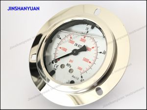 Og-016 Wika Type Pressure Gauge/Pressure Gauge with Front Clamp/Back Type Manometer pictures & photos