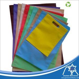D-Cut Colored PP Spunbond Nownoven Shopping Bag pictures & photos
