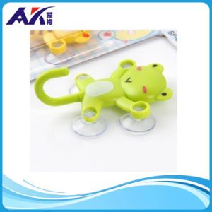 Cartoon Animal Type Sticky Plastic Wall Keychain Hook