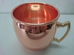 16 Oz 100% Pure Hammered Copper Barrel Gift Mug for Moscow Mules pictures & photos