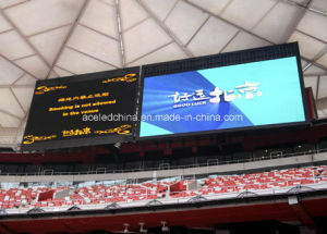 Ce RoHS ETL EMC Football Soccer Sports P10 P12 P16 Wide View Curved Perimeter Screen Advertising pictures & photos