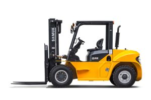 Samuk 7ton Diesel Forklift Forklift with Original Cummins Engine pictures & photos