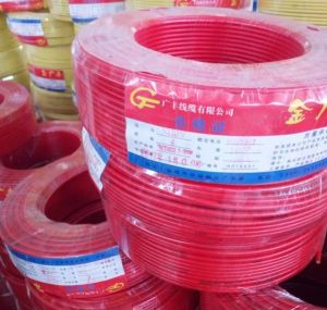 Nh-BV PVC Insulated Copper Electric Wire 450/750V