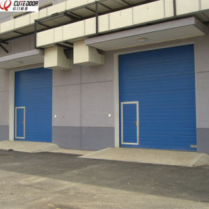 Automatic Electric Vertical Lift Overhead Roll Up Warehouse Garage Door