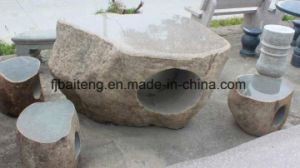 Natural Stone Garden Table and Chair pictures & photos
