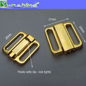 "3/4"" Swimwear Metal Connectors Clasp pictures & photos"