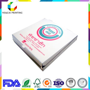 Wholesale Customized White Carton Pizza Box for Fast Food Packaging