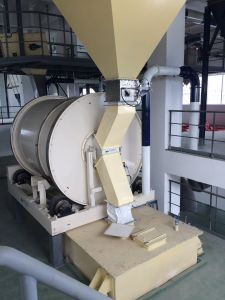 Post-Blending Mixer of Washing Powder Production Line Equipment