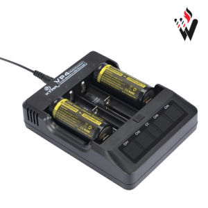Xtar Vp4 Panzer 18650 Battery Charger Li-ion Battery Charger with USB Charging Port