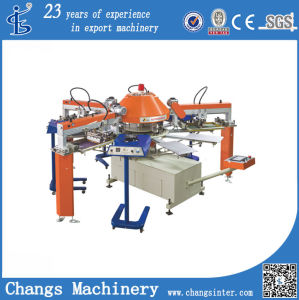Spg Automatic Sceen Printer Machine High Quality for Non-Wovwn Bags T-Shirt Textile pictures & photos