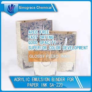 Acrylic Emulsion Binder for Glossy Flexo and Gravure Inks