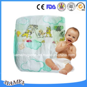 with Wetness Indicator Cheap Cotton Baby Diapers pictures & photos