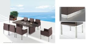 Outdoor Dinner Table and Chair (7051)